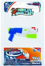 World's Smallest Super Soaker Water Gun #576 Assorted Styles, please let us choose.  The World's Smallest Super Soaker - yes, it actually works! Based on the best-selling, best performing water squirters of all time, Super Impulse proudly presents miniatu