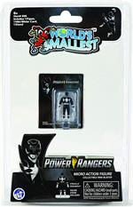 Introducing World's Smallest Power Rangers Micro Action Figures! A new line of micro yet highly detailed, retro action figures for fans of all ages to collect and display. Now available in the world's smallest size ever, measuring only 1. 25 inches tall,