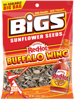 Bigs Frank's Red Hot Buffalo Wing Sunflower Seeds