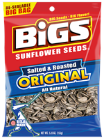 Bigs Original Salted & Roasted Sunflower Seeds