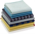 The E-Cloth Home Cleaning Set is a real commitment to chemical free cleaning at great value. All the cloths remove grease, dirt and over 99% of bacteria - with just water. These 8 specialist cloths work on a variety of surfaces