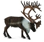 Caribou, Reindeer realistic figurine toy