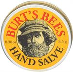 Nourish your hands anywhere with the convenient travel-size tin of Burt's Bees Hand Salve. The small tin fits easily into purses or pockets. This intensive formula features botanical oils - including olive oil - herbs and beeswax to give moisture to rough