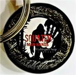 Don't Mess Around. Use Squatch. Takes off almost everything....except your skin. Leaves hands moisturized, healthy and smelling like a man...not like a flower. Natural Loofah infused with natural glycerin soap for a manly clean.