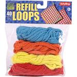 Make another loop potholder with this brightly colored loop refill.