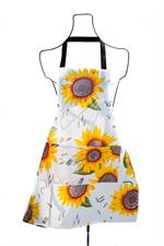 Adult sized bib apron made of oilcloth for quick and easy cleanup around the kitchen. Features adjustable webbing strap that can easily fits to height. It is suitable for both men and women to wear.