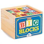 Schylling Toys ABC Big Blocks #ABL - 48 Piece Wood Alphabet Blocks  A classic set of solid wood alphabet blocks. A 48 piece set of the complete alphabet, each block is a substantial 1.75 inch cube made from the highest quality wood. They are the perfect s