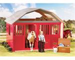 Breyer Horses Traditional Size Two Stall Barn #307