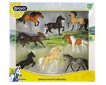 Breyer's New Deluxe Horse Collection is the perfect set to jump-start any Stablemates Collection! A gorgeous assortment of breeds and colors makes this set stand out from the herd. This exciting grouping includes 8 models: Paint Horse, Morgan, Brabant, T