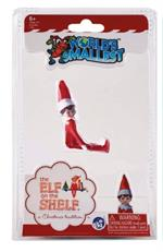 World's Smallest Chippy - Elf on the Shelf #577  The World's Smallest elf on the shelf is a timeless Christmas classic! A miniature replica of the original full-sized elf on the shelf, World's Smallest is less than 4 inches from the tip of his hat to the