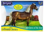 Breyer Horses Classics Size Fairfax Morgan #62120 - Horse of the Year Series Model Breyer is excited to have Fairfax, who is a new sculpture by artist Mindy Berg, heading up the 2020 Freedom Series line.  With his proud carriage and gracefully arched neck