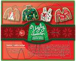 Create fun-to-decorate cookies with this ugly sweater cookie cutter set from Fox Run Craftsman! This set includes four differently sized and shaped ugly sweaters, crew neck, turtleneck, v-neck and vest styles. Perfect for Christmas time, these shapes will