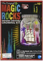 Toysmith Original Magic Rocks Jar Instant Crystal Growing Kit #29138  Since the 1940s, Original Magic Rocks has been amazing and entertaining children of all ages. The Instant solution grows magic crystals or rocks right before your eyes. Set includes mag