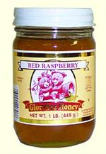 GloryBee Pacific Northwest Raspberry Honey 16 ounce jar