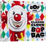 This silly clown won't stay down. He's tall, 42 inches high. Blow him up and he's ready to play. Hit him as hard as you can and he'll bounce right back up. Weight the bottom with water or sand and he becomes remarkably resilient. Made from high strength v