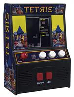 Schylling Toys Tetris Arcade Style Hand Held Game #9594 One of the most recognizable and influential video game brands in the world, Tetris has transcended barriers of culture and lanugage for 30 years! Rotate, move, and drop a procession of Tetriminos in