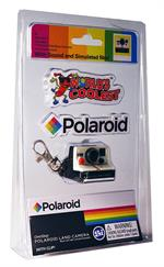 This cool keychain, that is a replica of the original Polaroid, has sound, simulated film, and a clickable red shutter button